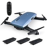 Goolsky JJRC H47 720P Cámara WIFI FPV Drone Altitud Mantenga G-sensor de Control Plegable RC Selfie Quadcopter con dos Battries Extra