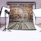 LB 8x8ft Brick Wall Poly Fabric Photo Backdrops Customized Studio Background Studio Props WF20