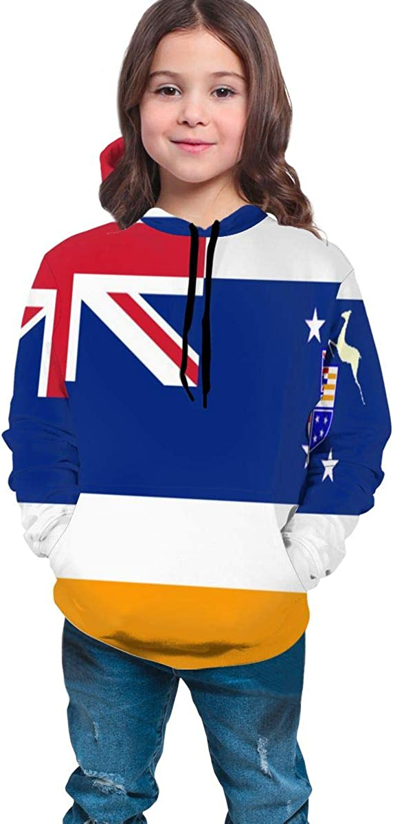 Lichenran Union of South Africa Flag Men 3D Print Pullover Hoodie Sweatshirt with Front Pocket