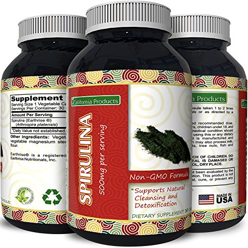 Pure Organic Spirulina 500 Tablet product image