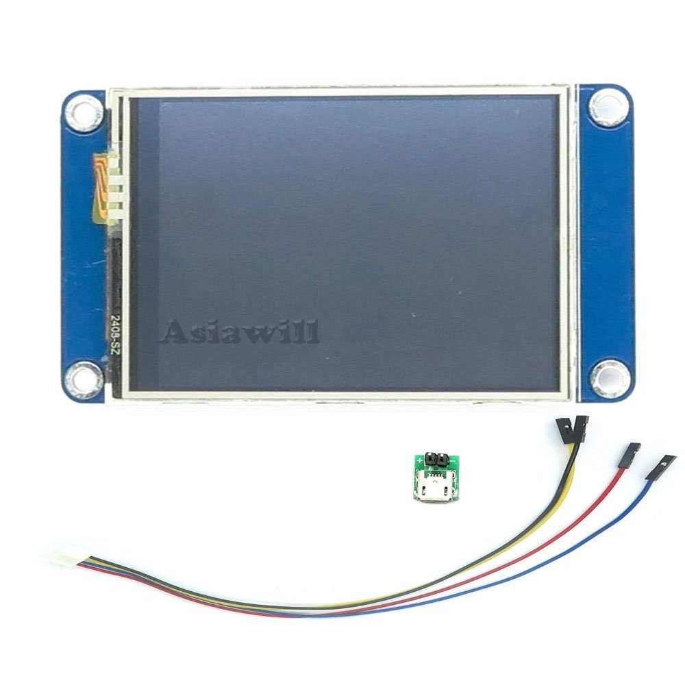 asiawill nextion nx3224t024  Generic 6, 1  cm TFT 320  x 240  Auflö sung Intelligente LCD Touch Screen Display