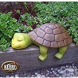Kerri-Keramik Schildkröte Kantenhocker Wetterfest