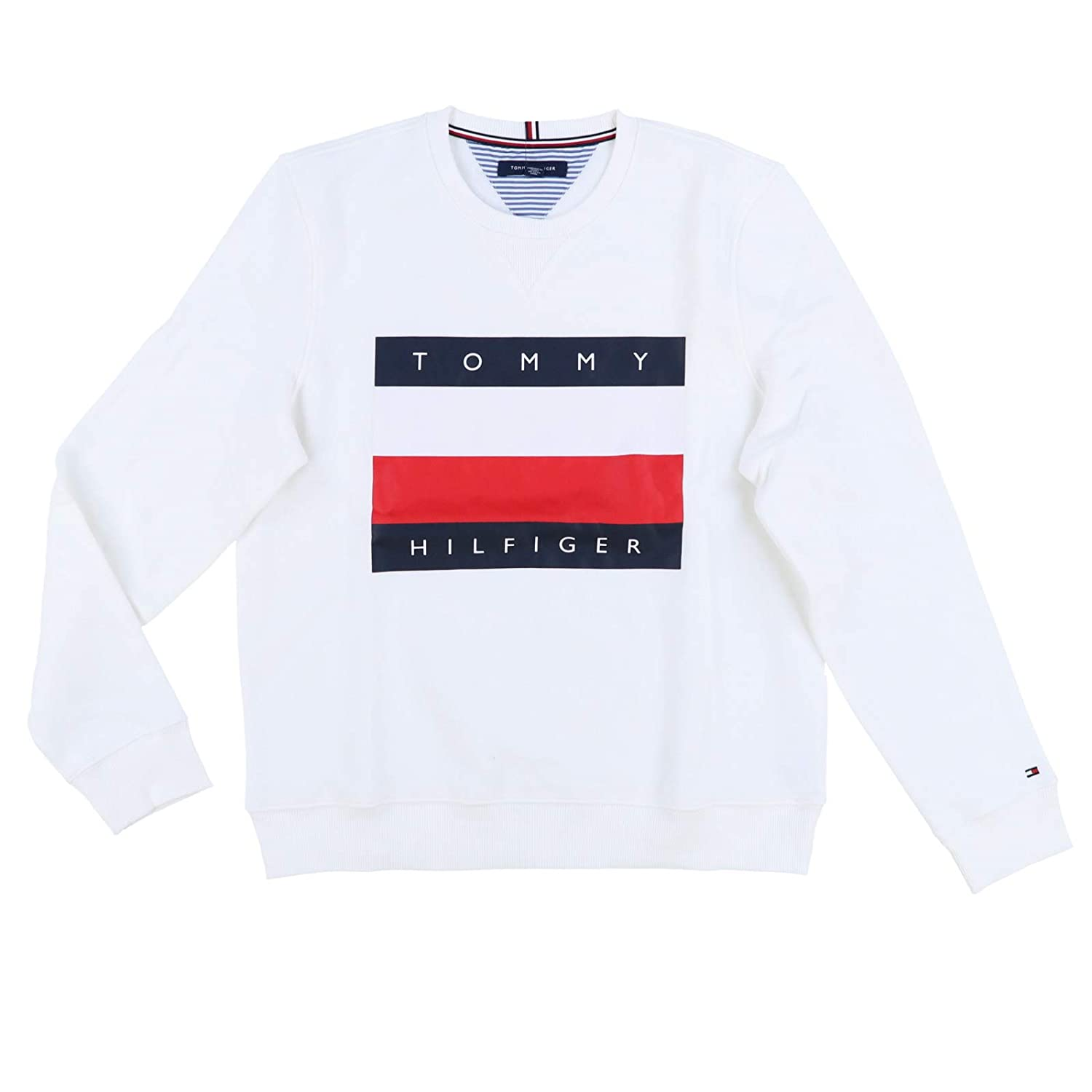 Efterstræbte Tommy Hilfiger Mens Pullover Big Flag Sweater: Amazon.ca: Clothing RU-03