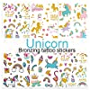 Fun Express Rainbow Unicorn Tattoos - 72 pc 2