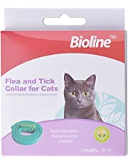 PetSol - Collar de parásito antipulgas y garrapatas para gatos con aceites esenciales naturales de eucalipto