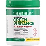 Vibrant Health - Green Vibrance, A Comprehensive, Restorative, Advanced Daily Superfood + Vegan D3, 60 servings