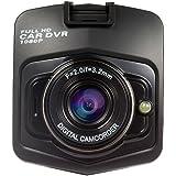 Hrph Mini Car Camera DVR GT300 Full HD 1920*1080P Digital Video Registrator Recorder Night Vision Dash Cam (Black)