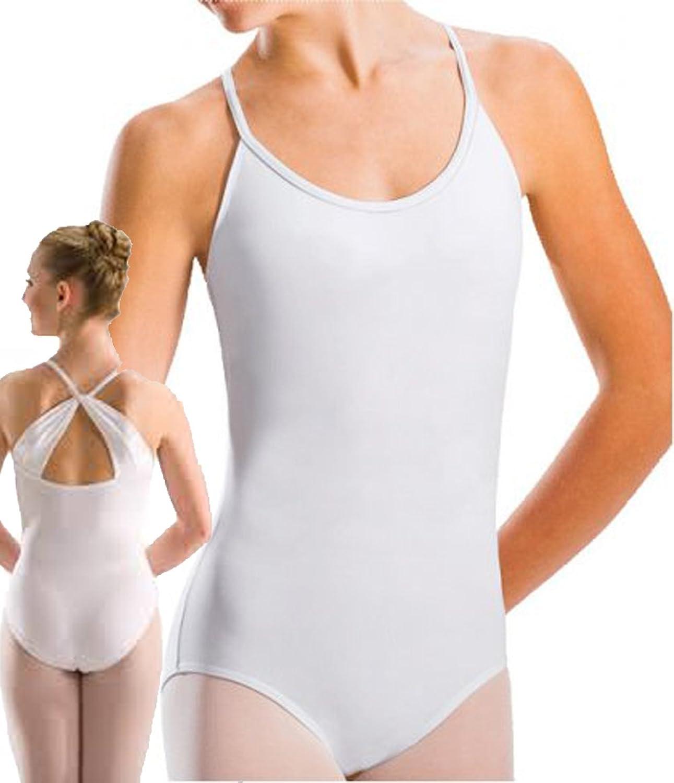 Motionwear 2622 Girl's Drape Back Camisole Leotard