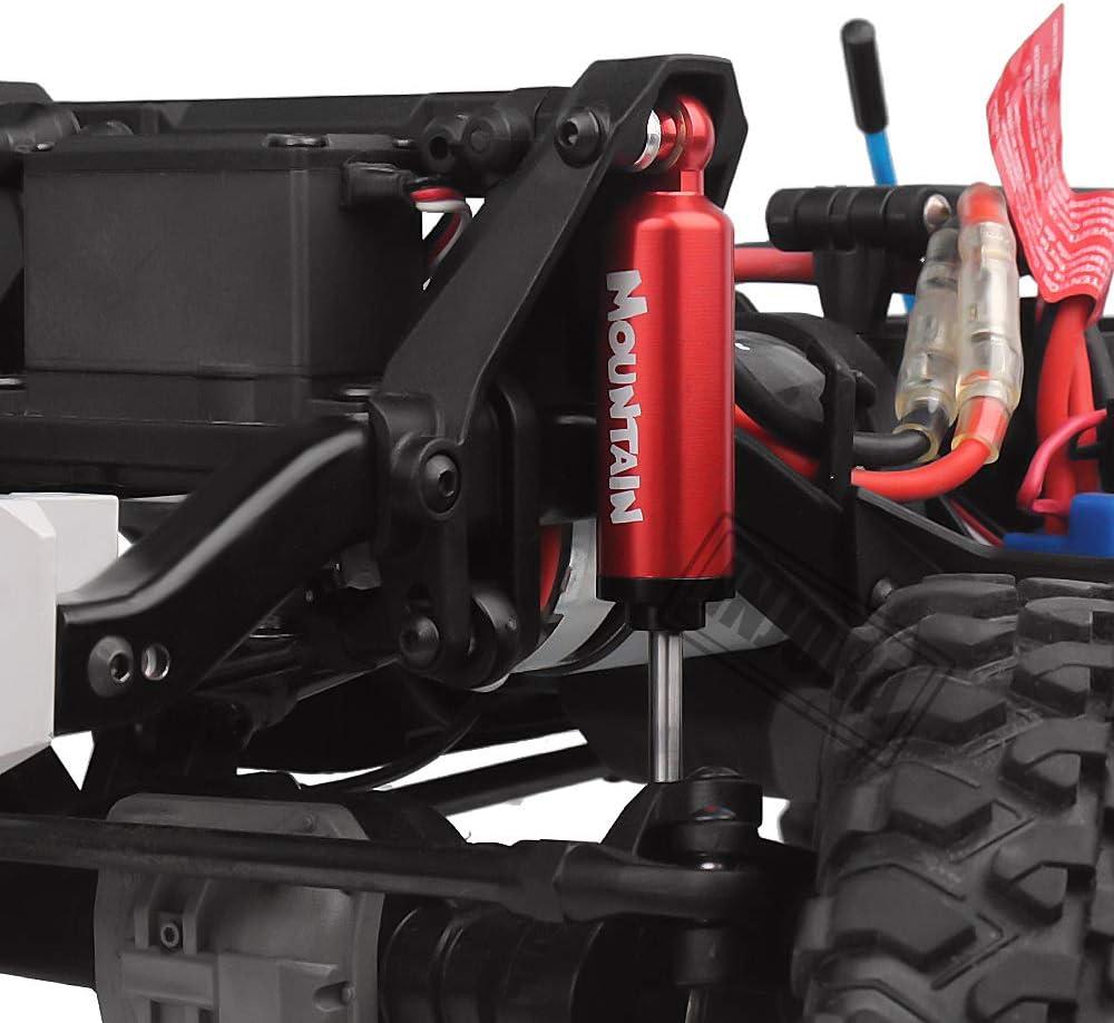 INJORA RC Shock Absorber RC Damper Set for 1//10 RC Truck Crawler Axial SCX10 90046 TRX-4 MST Redcat Black 90mm