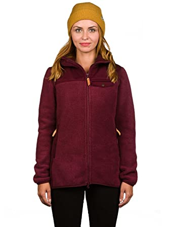 Fjällräven Damen Singi Fleece Hoodie W Pullover   Sweatshirt, Dark Garnet,  ... 344b13f40a