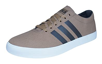90585c95f3d3 adidas Neo Easy Vulc VS Mens Sneakers Shoes-Brown-7.5