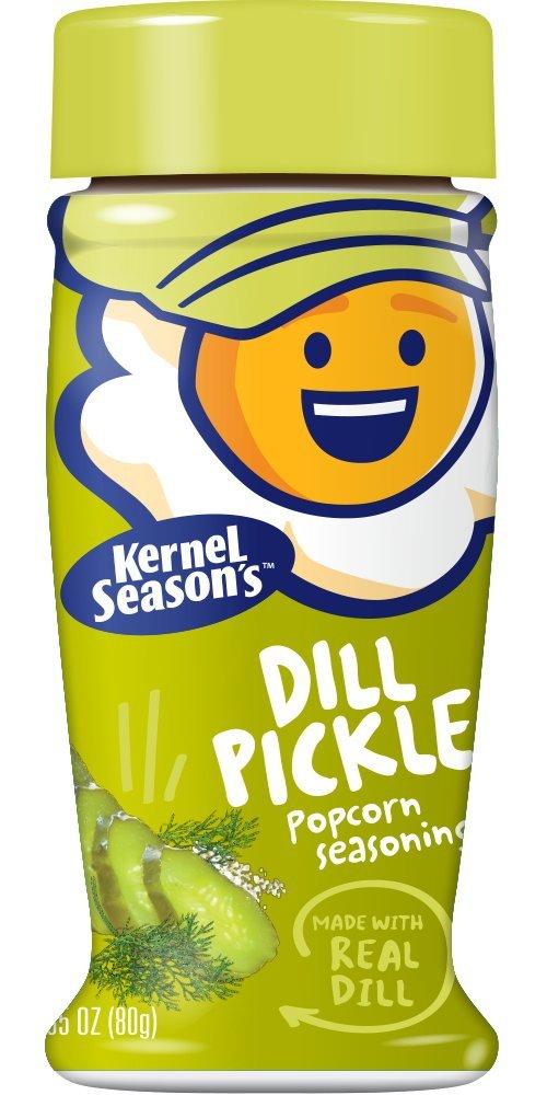 Kernel Season's Popcorn Seasoning, Dill Pickle, 2.85 Ounce (Pack of 6)