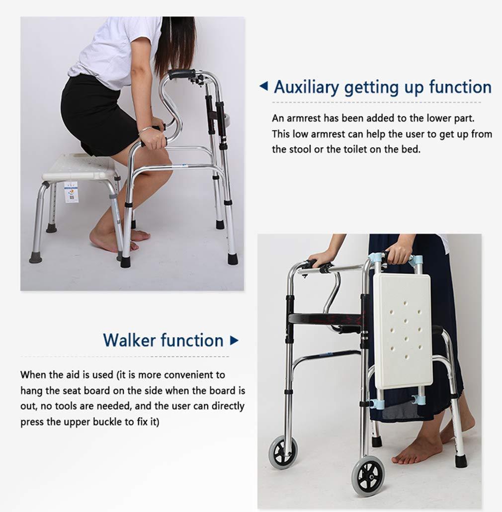 Amazon.com: NYPB - Andador de pie con asiento de baño ...