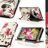 Best GreatShield Car Phone Holders - iGadgitz Pink on Cream Floral PU Leather Case Review