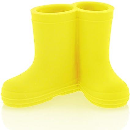 Soporte para cepillos de dientes, diseño de botas para 2 cepillos de dientes Hoobbe silicona