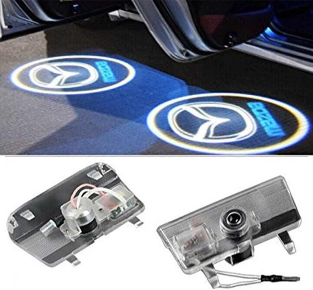 znystar 2pcs Car LED Projecteur de la lampe de la porte Ghost Shadow Bienvenue lumi/ère Kit
