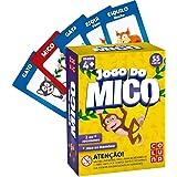 Jogo do Mico Com Jogo da Memória, Coluna, 55 Cartas, Multicor