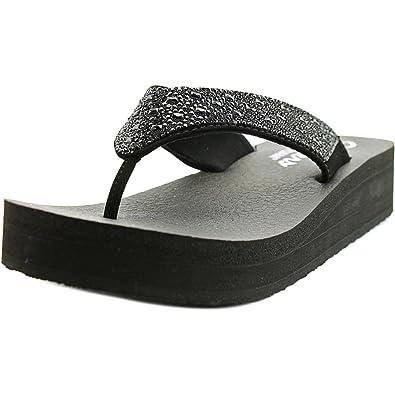 8cab5692ad Amazon.com | Skechers Vinyasa ZEN Garden Womens Flip Flops | Flip-Flops