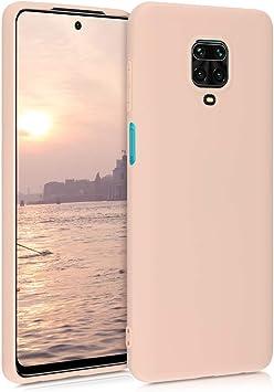 kwmobile Funda Compatible con Xiaomi Redmi 9 Carcasa de TPU Silicona Protector Trasero en Lavanda Pastel