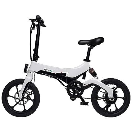 Amazon.com: Jetson Metro Bicicleta eléctrica plegable con ...