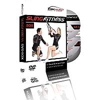 Variosling DVD Slingfitness - Anleitungen mit effektiven ganzkörper Übungen für das Schlingentraining. DVD Vol.1, 2, 2.2, 3, Sixpack Training oder im 4er Set - Suspension Training, Trainings-DVD.