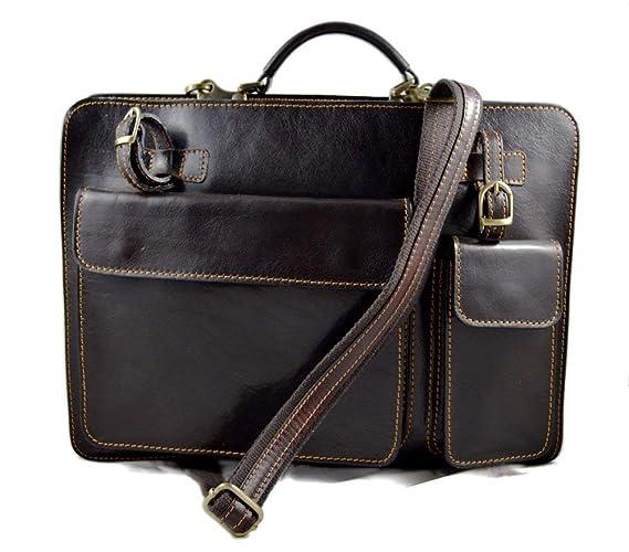 e436ed2c96 Cartella pelle borsa ufficio uomo donna valigetta 24 ore borsa pelle  messenger a mano e tracolla