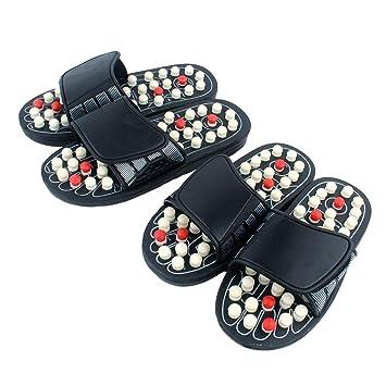 7642f74b302ff Amazon.com : SuBoZhuLiuJ Massager Slippers, Health Fitness ...