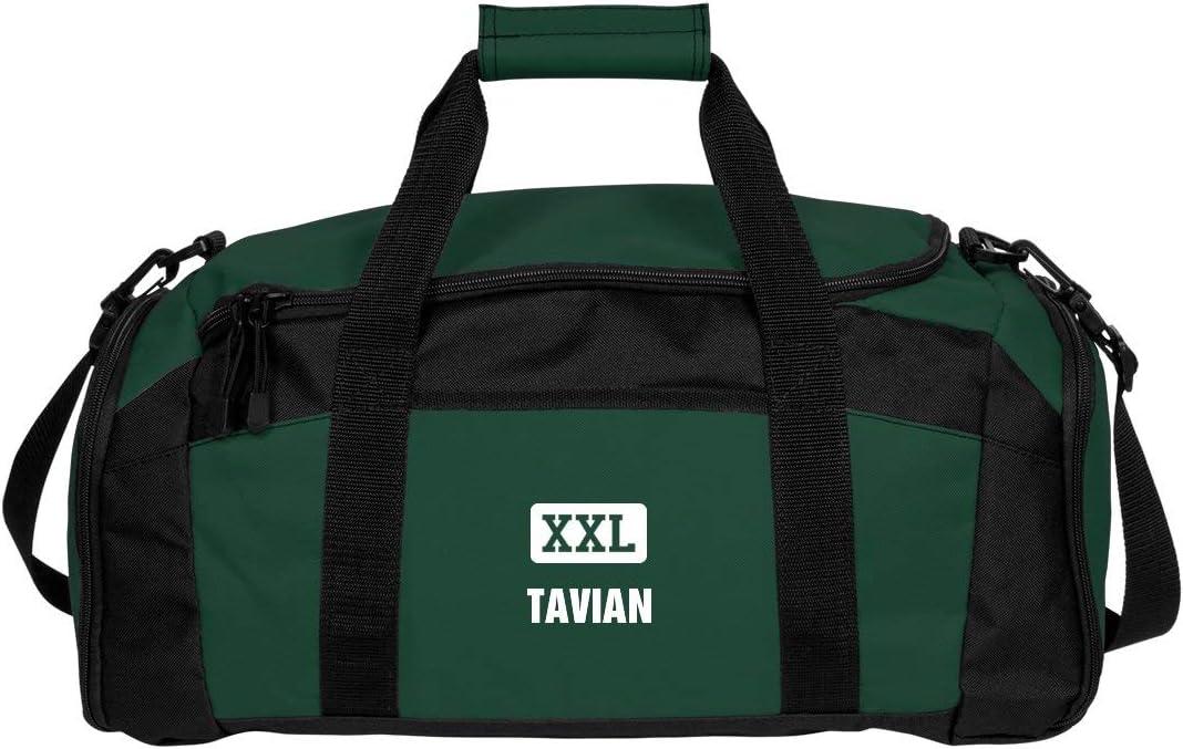 Gym Duffel Bag FunnyShirts.org Tavian Gets A Gym Bag