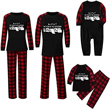 Pijama de Navidad para hombre y mujer, con estampado de ...