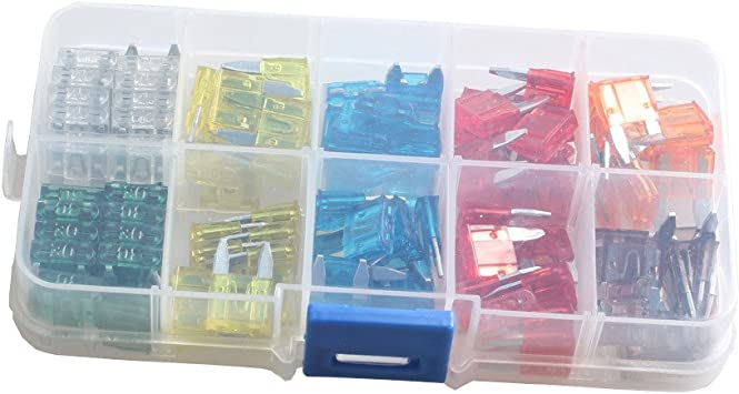 120Pcs MIX Mini Standard Blade Fuse 7 5 10 15 20 25 30 Amp ATM APM Car Industry