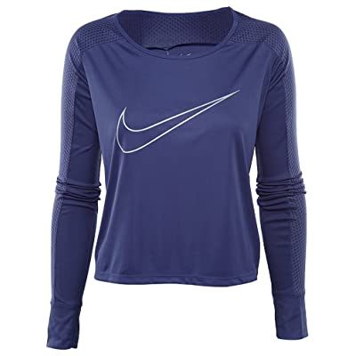 Nike Running Top Womens Style: 799576-508 Size: L Purple | Boots