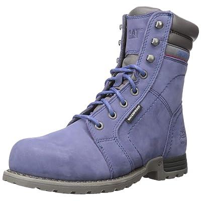 Caterpillar Women's Echo Waterproof Steel Toe Construction Boot: Shoes