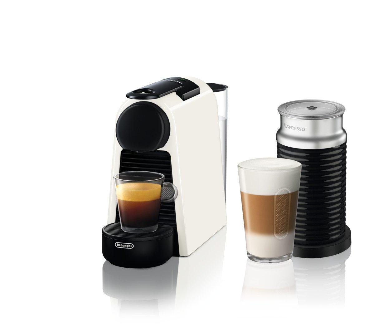 De Longhi Essenza Mini en 85.w Cafetera de cápsulas con diferentes Cápsulas Nespresso, 0.6 L, 1255 W, 19 bar, Pure Color Blanco: Amazon.es: Hogar