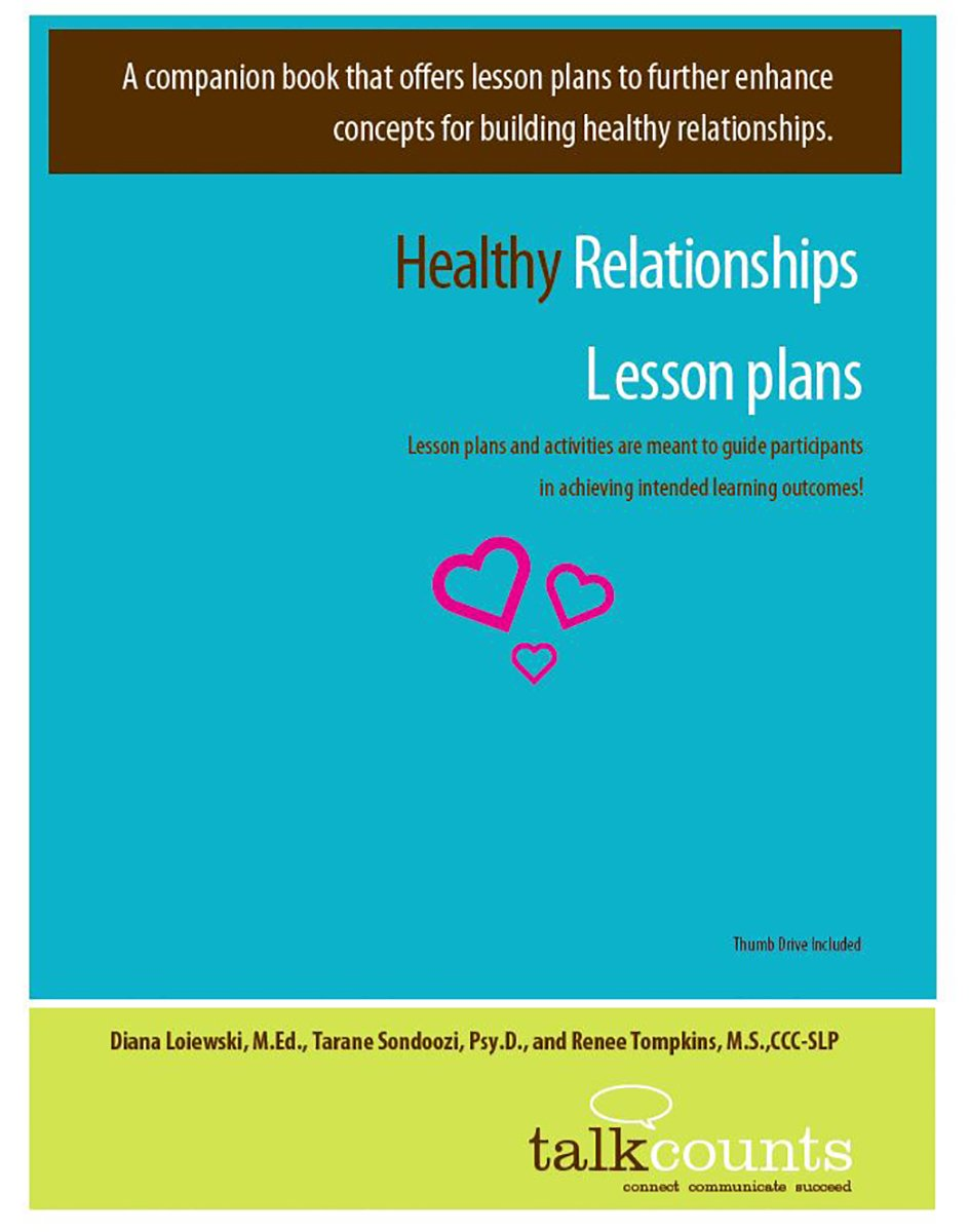 building healthy relationships lesson plan