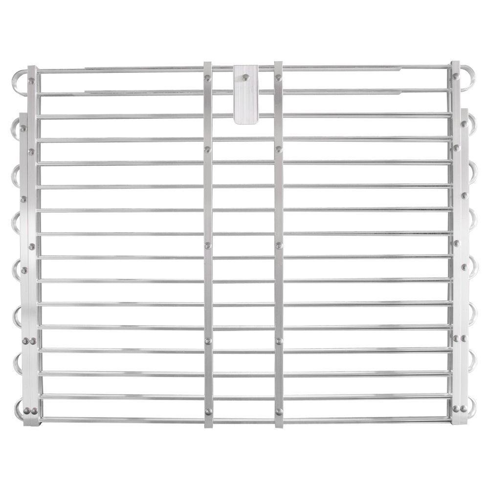 Adjust-A-Grate 30-33 in. x 60-66 in. Adjustable Aluminum Window Well Grate