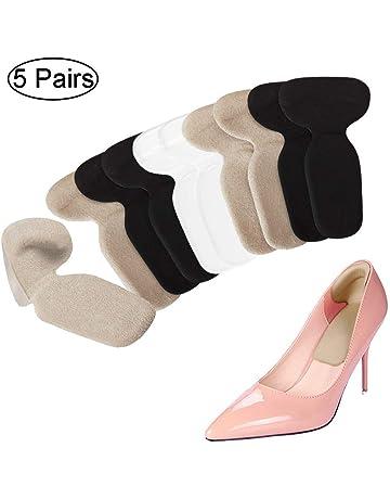 5e4c767d72f2 Heel Cushion Inserts - Heel Grips   Shoe Pads for Women - Non Slip Gel Back