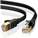 UGREEN Cable Ethernet, Cat 7 Cable de Red 10000M bit/s con Conector RJ45 (10 Gigabit, 600MHz, STP) Lan Cable para Enrutador,