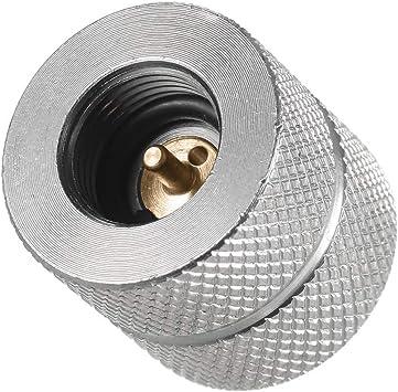Universal Adaptador de recarga de gas del cartucho Boquilla Tipo de botella Cartucho de gas de butano/Recarga de gas para tornillo Tipo de válvula ...