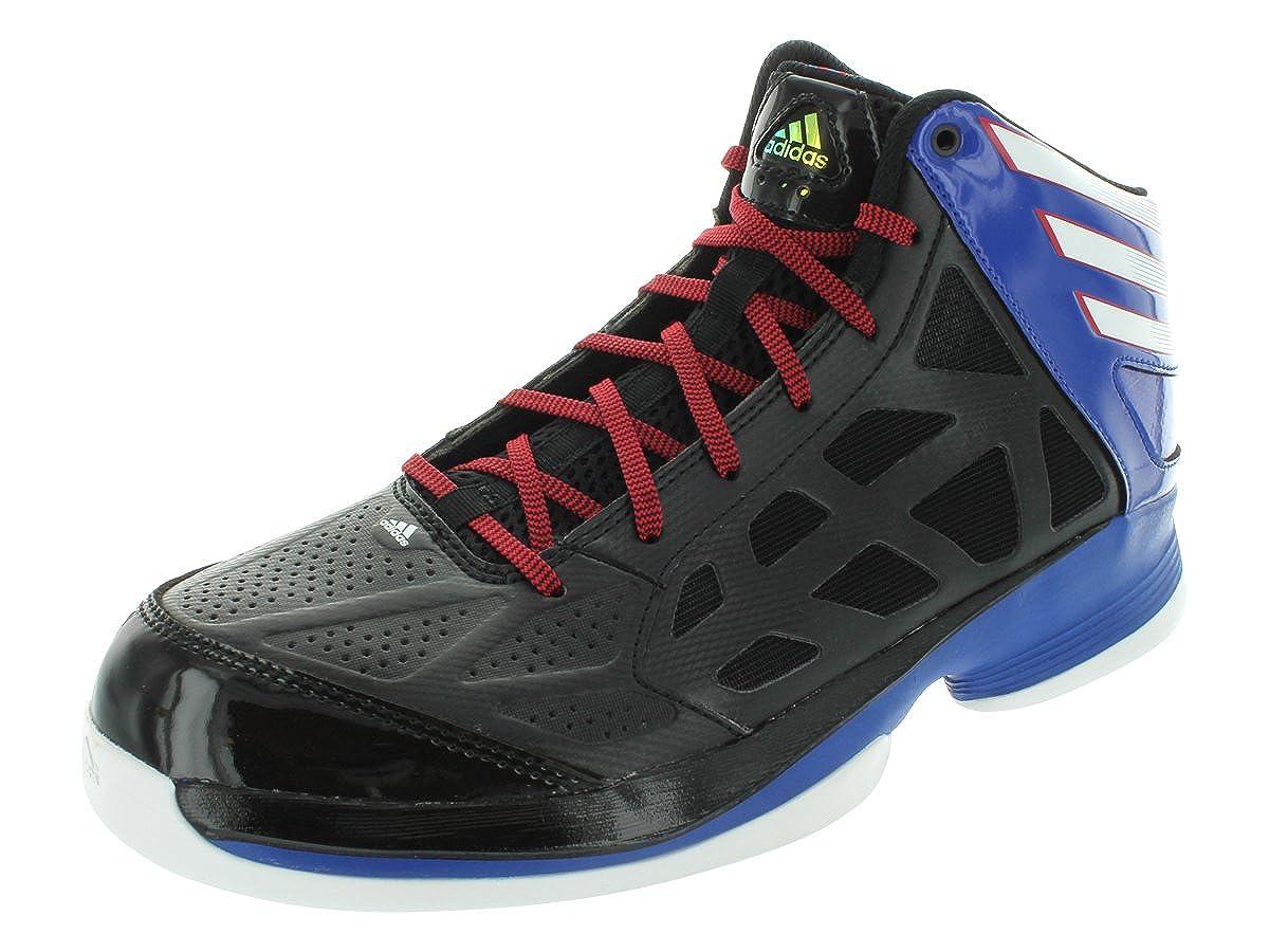 Adidas Crazy Shadow Basketball Shoes - BLACK1/RUNWHT/BLUSLD (Men)