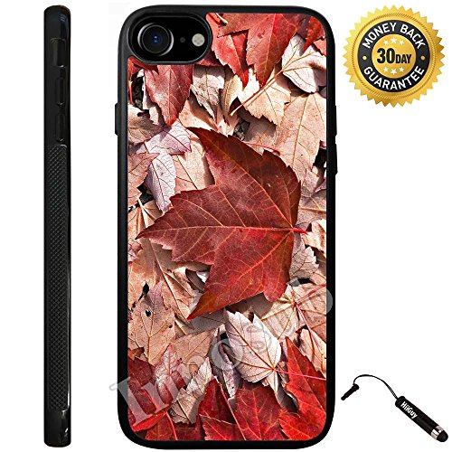 Custom iPhone 7 Case (Canada Nature Life Love) Edge-to-Edge Rubber Black Cover with Shock and Scratch Protection | Lightweight, Ultra-Slim | Includes Stylus Pen by - Canada Mirror Black