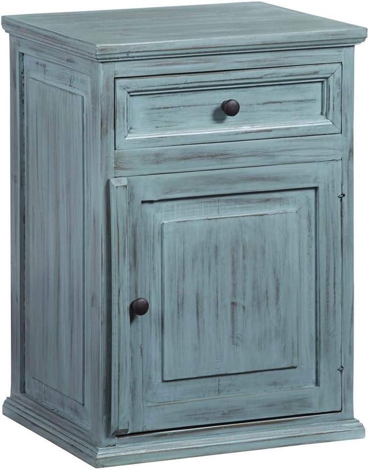 Progressive Furniture Liza nightstand, Blue