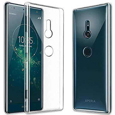 save off 31ae5 93ca1 QULLOO Sony Xperia XZ3 Case Cover, Soft TPU Protective Case Crystal Clear  Silicone Transparent Cover for Sony Xperia XZ3 (Transparent)