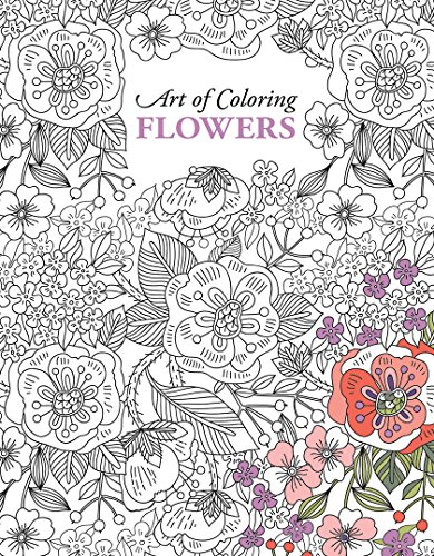 Art of Coloring Flowers | Leisure Arts (6806)