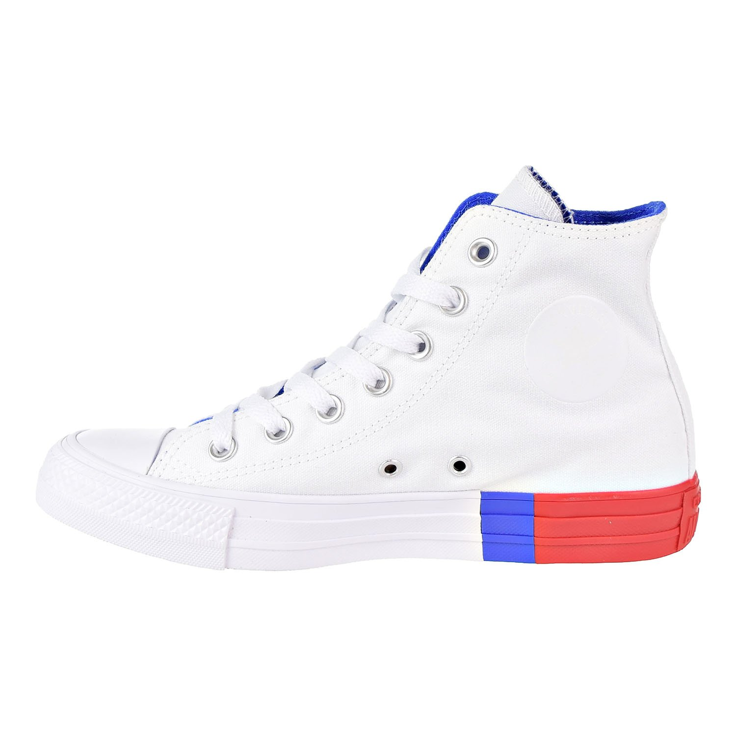 White//RED//Blue Converse Unisex Chuck Taylor All Star