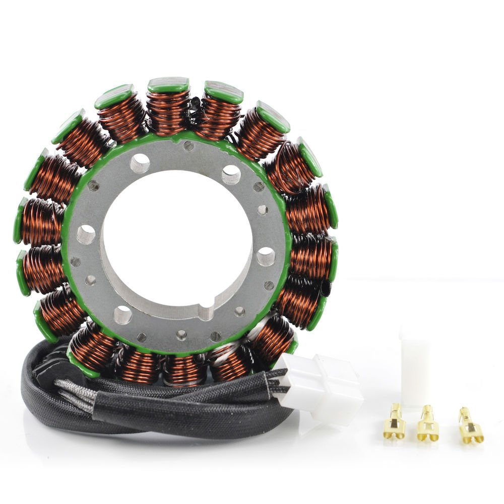Generator Stator For Honda VLX 600 Shadow VT600 VT600C VT600CD 1988 1989 1990 1991 1992 1993 1994 1995 1996 1997 1998 OEM Repl.# 31120-MR1-004 31120-MAV-003