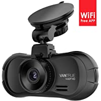 Vantrue X3 Super HD 2.5K 170-Degree Wi-Fi Dashboard Camera Recorder with HDR Night Vision and Loop Recording