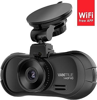 Vantrue X3 Super HD 2.5K 170-Degree Dash Cam with Night Vision