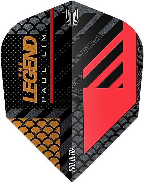 Target Darts Paul LIM G3 Flight-Pack of 3 Plumas para Dardos, Unisex Adulto, No.6: Amazon.es: Deportes y aire libre