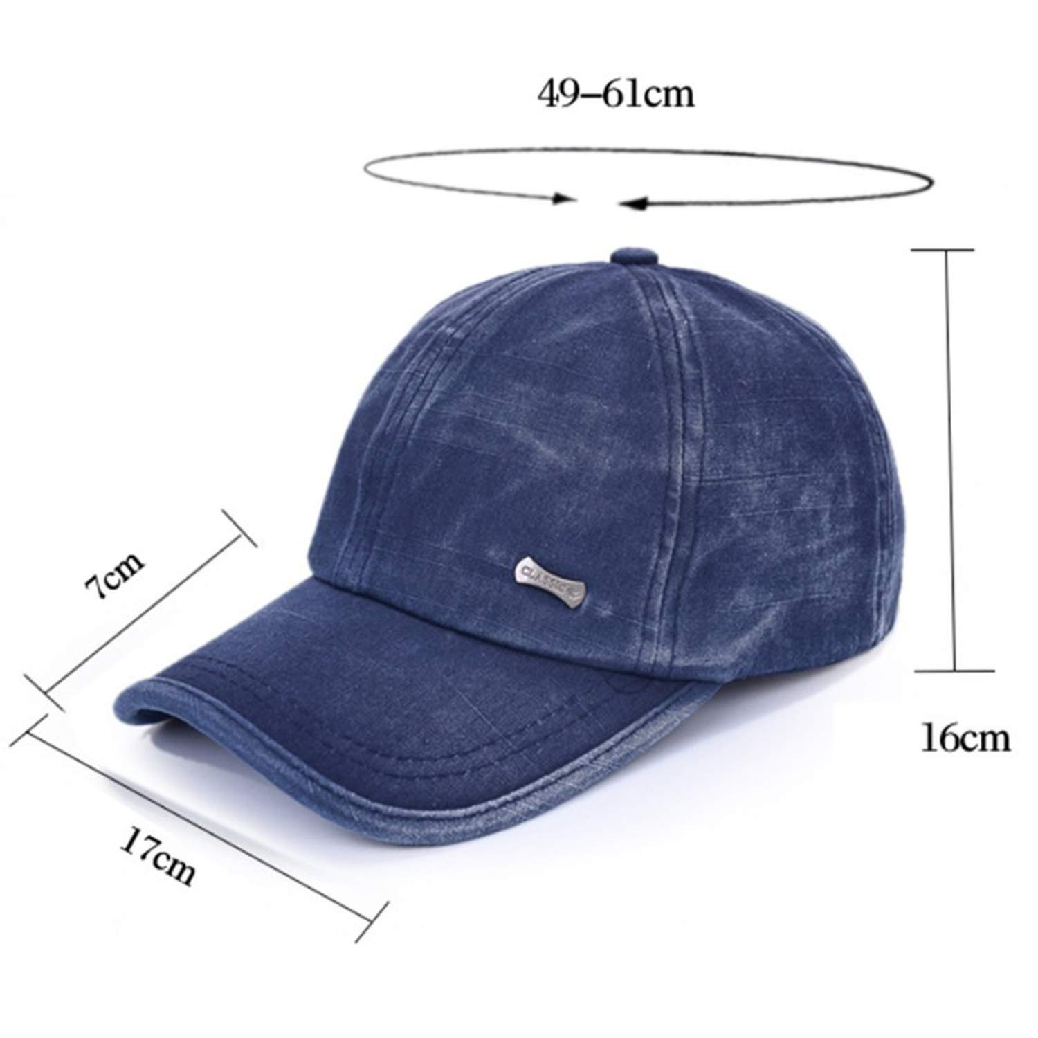 Kievil Summer Sunhat Hat Adjustable Washed Male Baseball Cap Mens Casual Cap Womens Hats Unisex Caps
