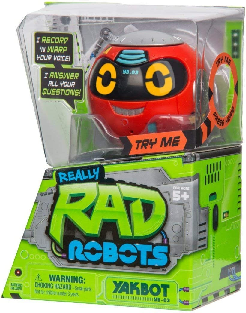 Rad Robot ヤクボット レッド&ミブロロロボット